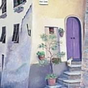 Villa Degli Algeri Tuscany Art Print