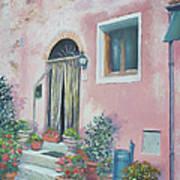 Villa In Il Borro Tuscany Art Print