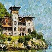 Villa La Gaeta Art Print