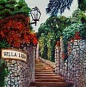 Villa Lidia Art Print