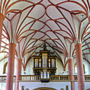 Villach Organ Art Print
