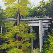 Village Creek Bridge Art Print