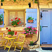Village House In The Tiny Luberon Art Print