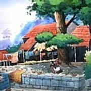 Village House Art Print