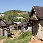 village in Madagascar Art Print