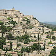 Village Of Gordes Art Print