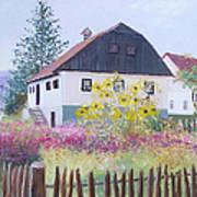 Village Of Kumrovec Croatia Art Print