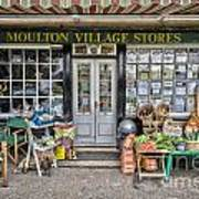 Village Stores 2 Art Print