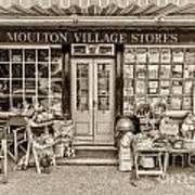Village Stores 3 Art Print