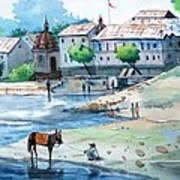 Village  Art Print