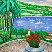 Villefranche Sur Mer---cote-d'azur Art Print