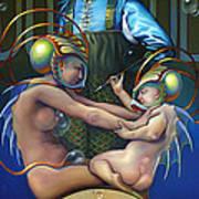Villeroy Bleu Art Print