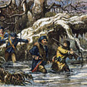 Vincennes: March, 1779 Art Print by Granger