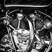 Vincent Engine Art Print
