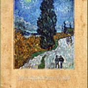 Vincent Van Gogh 4 Art Print