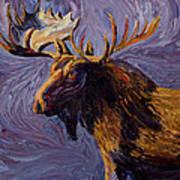 Vincent Van Moose Art Print