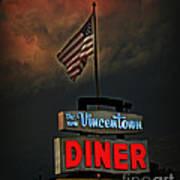 Vincentown Diner Art Print