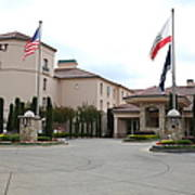 Vineyard Creek Hyatt Hotel Santa Rosa California 5d25787 Art Print