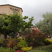 Vineyard Creek Hyatt Hotel Santa Rosa California 5d25795 Art Print by Wingsdomain Art and Photography