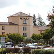Vineyard Creek Hyatt Hotel Santa Rosa California 5d25866 Art Print