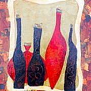 Vino 1 Art Print by Phiddy Webb