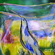 Vinsanchi Glass Art-1 Art Print by Vin Kitayama