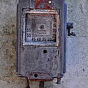 Vintage Air Pump Art Print