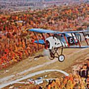 Vintage Airplane Postcard Art Prints Art Print