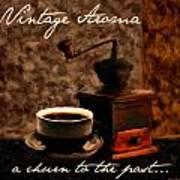 Vintage Aroma Art Print