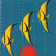 Vintage Australia Travel Poster Art Print