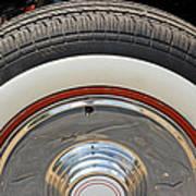 Vintage Automobile Tire Art Print