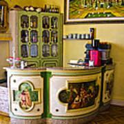 Vintage Bar - Hotel Subasio - Assisi Italy Art Print