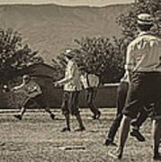 Vintage Baseball Art Print