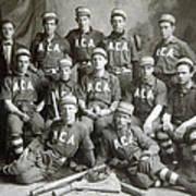 Vintage Baseball Team Art Print