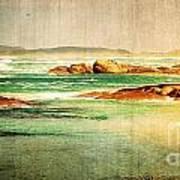 Vintage Beach Art Print