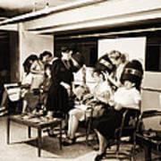Vintage Beauty Parlor Art Print