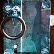 Vintage Boat Door Knob Art Print