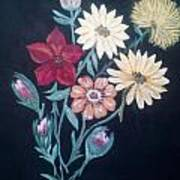Vintage Bouquet Art Print