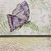 Vintage Butterfly-jp2568 Art Print