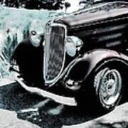 Vintage Ford Car Art 1 Art Print