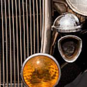 Vintage Car Details 6294 Art Print
