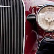 Vintage Car Details 6297 Art Print