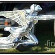 Goddess Of Speed Packard Hood Ornament  Art Print