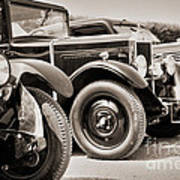 Vintage Cars Art Print