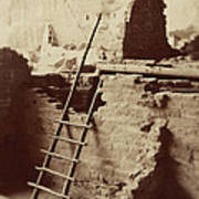 Vintage Cliff Dwelling Art Print