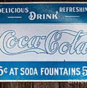 Vintage Coca Cola Ad Art Print