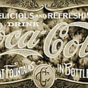 Vintage Coke Art Print