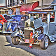 Vintage Cruise Cars 5 Art Print
