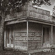 Vintage D'hanis Texas Business Art Print
