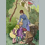 Vintage Easter Art Print